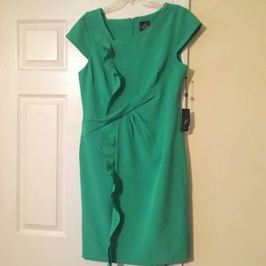 NWT Adrianna Papell Green Dress